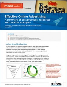 Paper on advertising